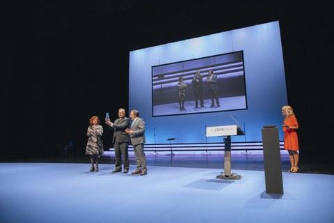El cooperativismo vasco reconoce a la ACI con el premio Denon Artean