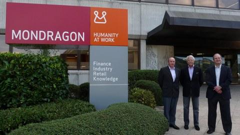 El estadounidense Gary Hamel visita la Corporación MONDRAGON