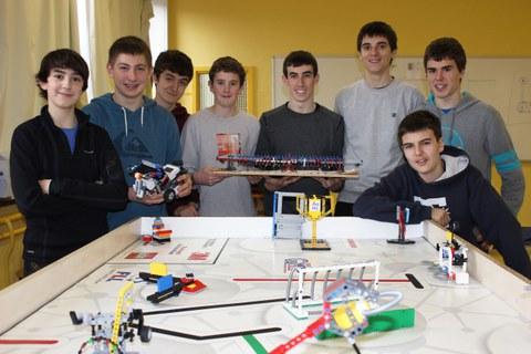 Un equipo de Arizmendi Ikastola-Ikerlan, a la final estatal de First Lego League