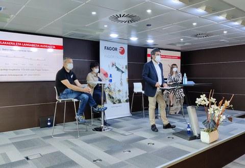 El Grupo Fagor subraya la capacidad de adecuación e innovación del último año