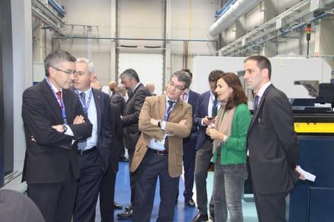 El ministro de Energía, Turismo y Agenda Digital visita Danobatgroup