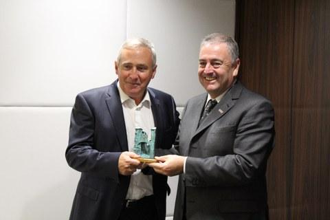 El presidente de la ACI visita MONDRAGON