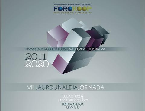 El próximo 22 de octubre se celebrará la octava edición de Forokoop en Bilbao