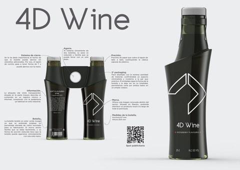 """El proyecto """"4D Wine"""" ganador de la """"Master Glass Design Contest"""""""