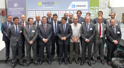 El proyecto Hiperion, liderado por Soraluce, impulsa el desarrollo y adaptación del sector de la máquina herramienta vasca