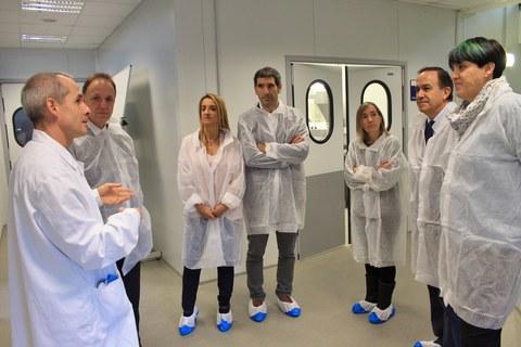 El viceconsejero de Formación Profesional del Gobierno Vasco visita Lea Artibai Ikastetxea