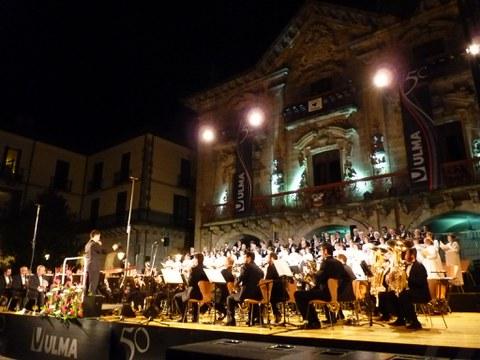Emotivo concierto, para celebrar los 50 años de Ulma