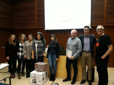 Entrega de premios del II Concurso Tupper saludable de OSARTEN