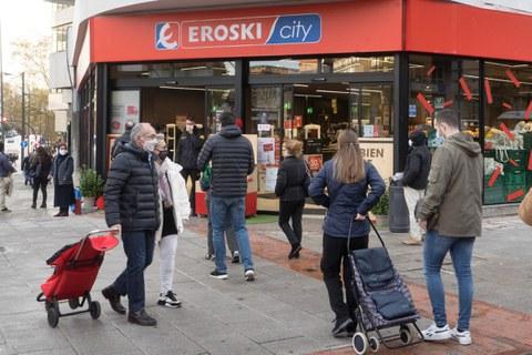 EROSKI abre su tienda más grande de este 2020 en Bilbao