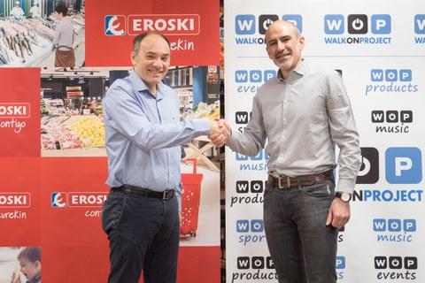 EROSKI colaborará con la Fundación The Walk on Proyect para llevar a cabo proyectos de investigación