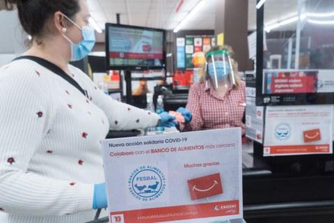 EROSKI donará 8 toneladas a los Bancos de Alimentos