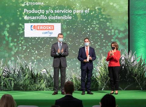 EROSKI premiada por proteger la biodiversidad de los mares