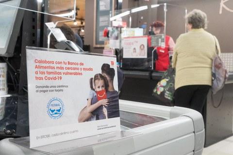EROSKI recauda 1,6 millones de euros en favor de los Bancos de Alimentos
