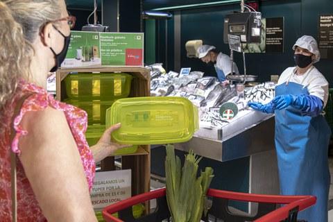 Eroski, reconocida por su apuesta para la reducción de plástico