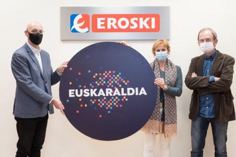 EROSKI y Euskaraldia firman un convenio de colaboración para fomentar el euskera