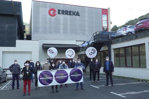 ERREKA renueva su apuesta por el euskera y la iniciativa 'Euskaraldia'