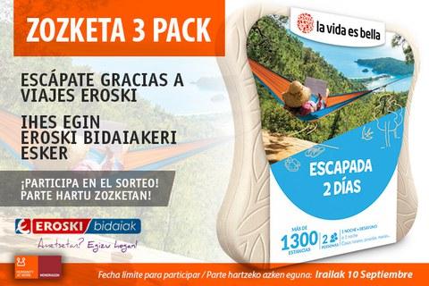 Escápate con este pack que ofrece Viajes Eroski