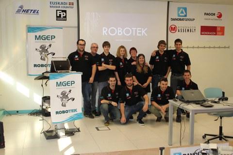 Un equipo de la Escuela Politécnica Superior de Mondragon viaja al campeonato europeo de robótica FTC de Holanda para reeditar el título