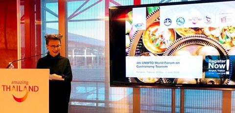 Euskadi, en la Cumbre Mundial del Turismo Gastronómico de Bangkok