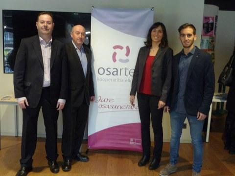 Éxito de la jornada sobre Salud y Bienestar en Empresas organizada por Osarten