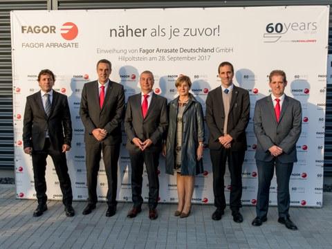Fagor Arrasate inaugura planta de producción en Alemania