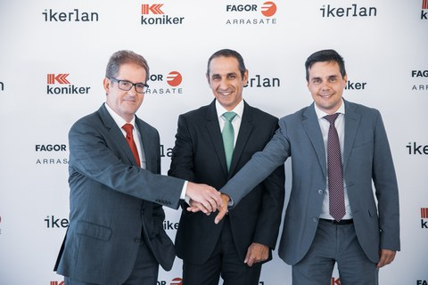 Fagor Arrasate, Koniker e Ikerlan refuerzan su colaboración