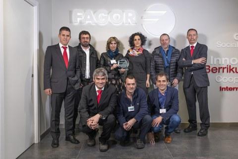 Fagor Arrasate reconoce la labor de sus proveedores