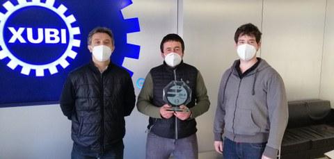 Fagor Arrasate reconoce la profesionalidad de XUBI Engranajes con el premio al Mejor Proveedor de 2020