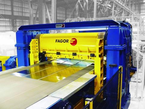 Fagor Arrasate y Mondragon Unibertsitatea diseñan cizallas inteligentes para acero de alta resistencia