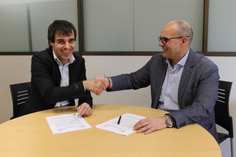 FAGOR AUTOMATION y el IMH suscriben un acuerdo para  el impulso de proyectos tecnológicos
