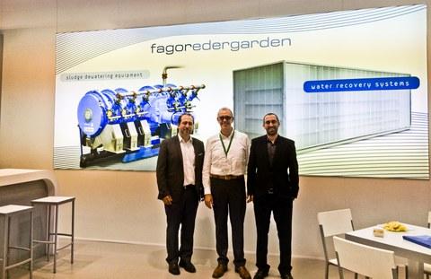 Fagor Edergarden presenta la Planta Compacta MBR para la regeneración y depuración de aguas urbanas e industriales