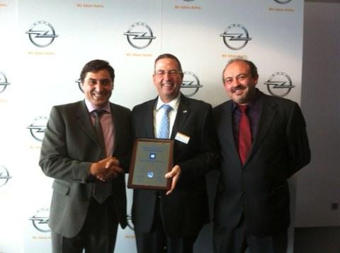 Fagor Ederlan Borja recibe de General Motors el premio a la Excelencia en Calidad 2014