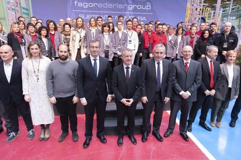 Fagor Ederlan Group inaugura en Bergara su cuarta planta de aluminio baja presión