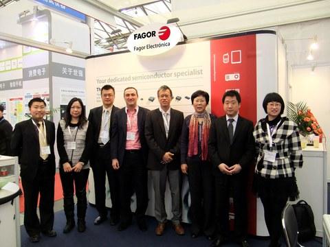 Fagor Electrónica acude a la feria electrónica China 2012
