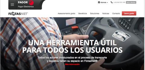 Fagor Electrónica lanza FlotasNet Mobile, la nueva aplicación de Android para gestionar la flota desde un smartphone
