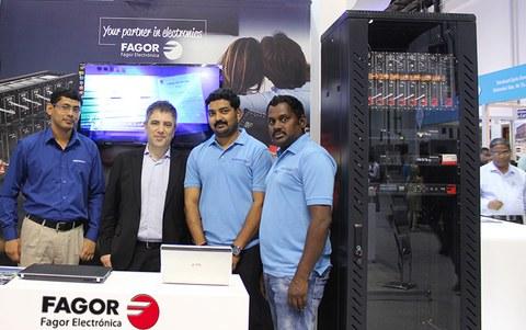 Fagor Electrónica, presente en la Feria Cabsat de Dubai