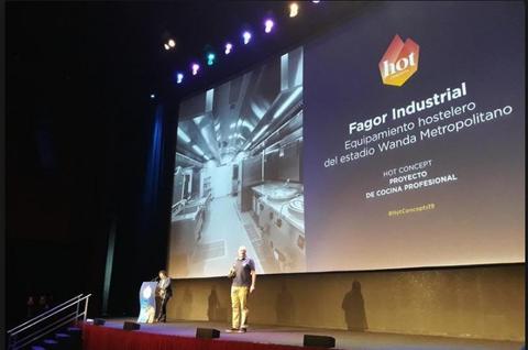 Fagor Industrial ganador de los premios Hot Concepts 2019