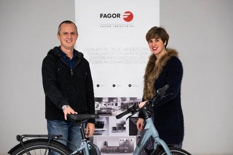 Fagor Industrial se alía con Orbea para fomentar el uso de la bicicleta eléctrica