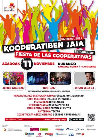 Fiesta de las cooperativas el próximo 11 de noviembre en Durango