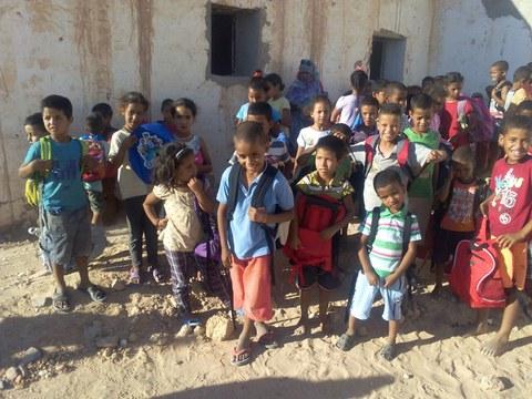 Fundación Ulma cierra con excelentes resultados la campaña de recogida de material escolar para Sahara