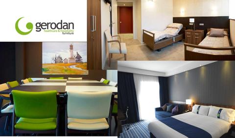 Gerodan: soluciones de equipamiento integral para geriátricos, hoteles y oficinas