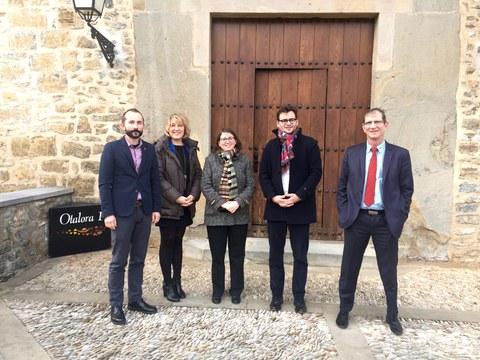 Representantes de la cooperativa francesa Groupe-Up visitan MONDRAGON