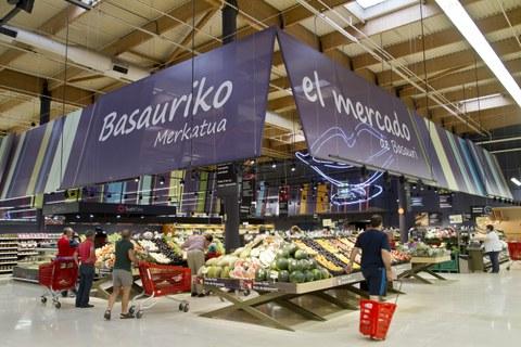 Grupo Eroski elevó su resultado operativo un 30,2% en 2020, hasta los 252 millones