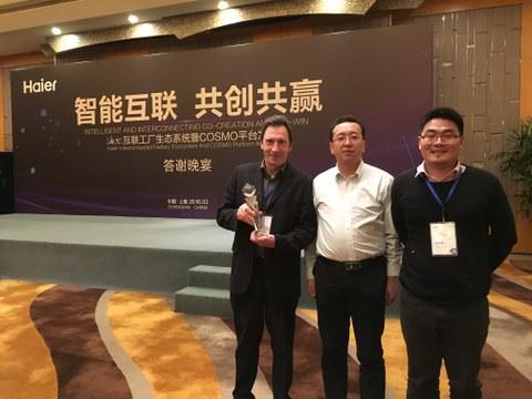Haier premia la labor de Cikautxo China