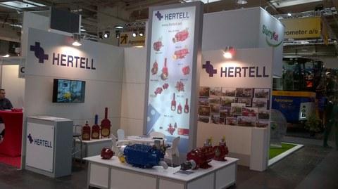 Hertell expone en Agritechnica