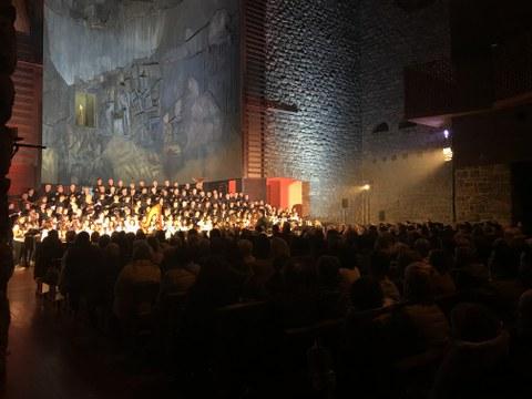 `Humanity at Music, Sinfonia Kooperatiboa´ y MONDRAGON protagonistas del concierto de Navidad de ETB