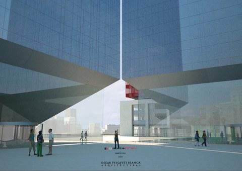 Iberdrola selecciona a Proiek para sellar una torre en Barcelona