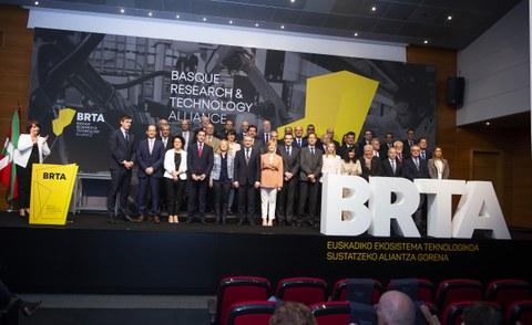 Ideko, Ikerlan y Lortek toman parte en el consorcio científico tecnológico BRTA