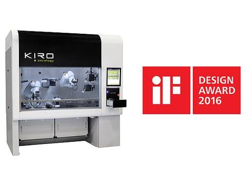 IF Design Award para Kiro Robotics y LKS Diaradesing
