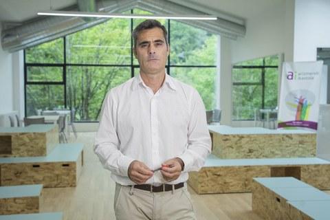 """Ignazio Barañano: """"Ahora el objetivo es trasladar la transformación pedagógica a las aulas"""""""